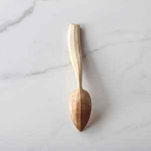 Curvy handled spoon
