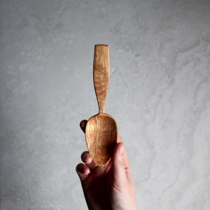 Spalted hazel eating spoon