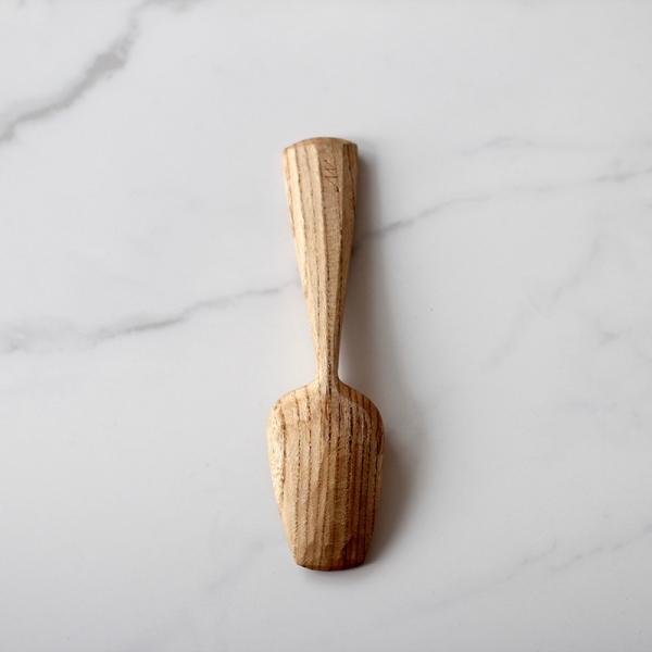 Stripey elm spoon