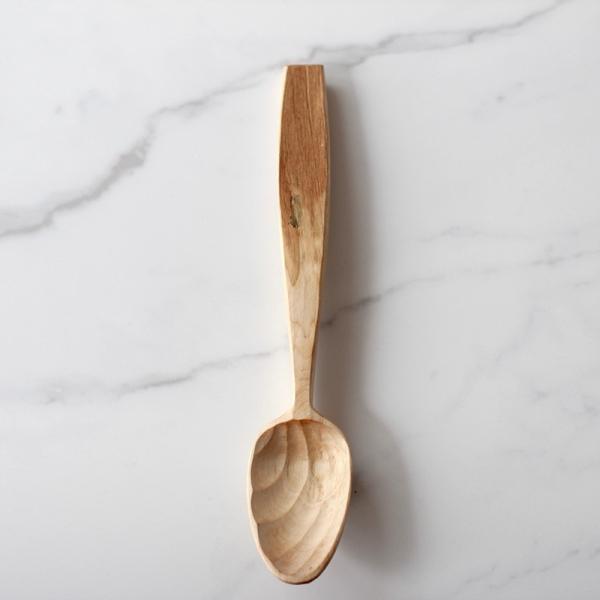Big scalloped spoon